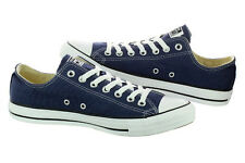 NEW! CONVERSE M9697 NAVY CHUCK TAYLOR ALL STAR OX SHOES TRAINERS DARK BLUE