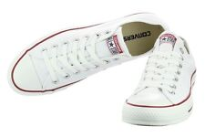 NEW! CONVERSE M7652 WHITE CHUCK TAYLOR ALL STAR OX SHOES SNEAKERS UNISEX
