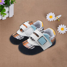Cute Infant Toddler Baby PU Shoes Boys Casual Soft Sole Sneakers First Walkers