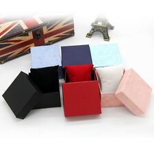 Hot! Present Gift Boxes Case For Bangle Jewelry Ring Earrings Wrist Watch BoxMAU