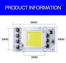 Smart IC Driver Warm White 20W 50W LED COB Chip Floodlight led bead Integrated