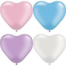 200pcs Colorful Heart Shaped Latex Balloons Wedding Birthday Party DecorationMAU
