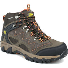 Cotswold Mens Malvern Mid Lace Up Leather Walking Hiking Boot Brown