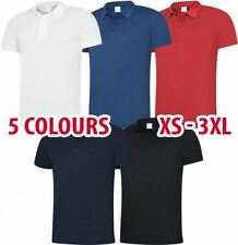 Uneek Mens Super Cool Polo Shirt Light Short Sleeve Sports Summer Workwear lot