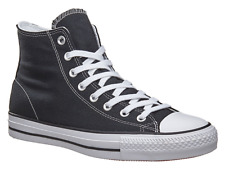 CONVERSE CTAS PRO HI BLACK WHITE BLACK MENS CANVAS SKATEBOARD SHOES SNEAKERS