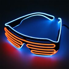 Glow LED Glasses Light Up Shades Flashing Rave Festival Party Glasses New RK
