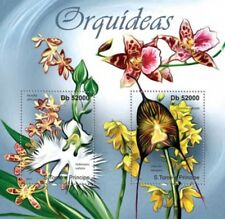 St Thomas - Orchids on Stamps - 2 Stamp  Sheet - ST11303a