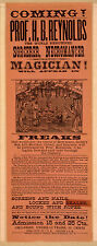 Photo Print Vintage Poster: Stage Theatre Flyer Stage Magicians 01