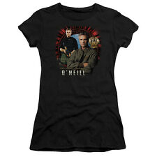 Stargate SG-1 Show JACK O'NEILL Licensed Ladies Cap Sleeve T-Shirt