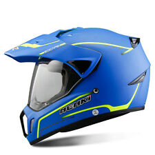 Dual Sport Motorcycle Motocross Helmet ATV Dirt Bike Off Road Helmets 310 Blue