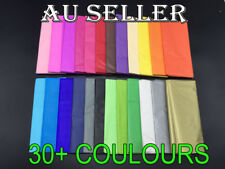 10/30/50/100 sheets Tissue Paper Gift Wrap Wrapping Craft Paper 24 Colours Large