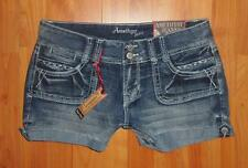 AMETHYST JEANS Juniors Low Rise FLORA Shorts NWT