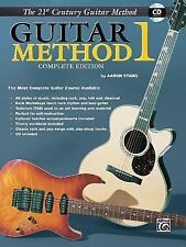 Guitar Method 1 (Belwin's 21st Century Guitar Library) by Aaron Stang