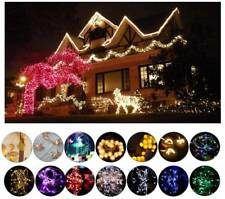 10-100 LED 2M-100M String Lights Battery Powered Fairy Wedding Party Home Decor
