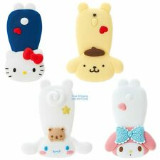 JAPAN SANRIO KITTY MY MELODY POM POM PURIN CINAMOROLL SILICA RUBBER CABLE CLIP