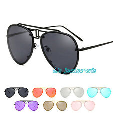 New Fashion Aviator Sunglasses Retro Vintage Mens Womens Ladies Designer UV400