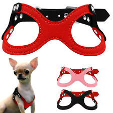 Flocking Puppy Small Pet Dog Harness for Chihuahua Yorkie Poodle Puppies