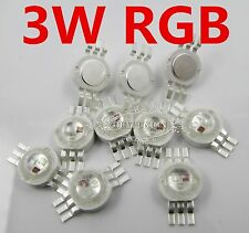 3W LED high power LED bead chip, 6-pin energy-saving DIY diode lamp, 3watt