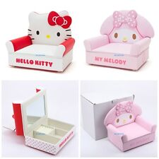 JAPAN HELLO KITTY MY MELODY SOFA MODELLING PU + WOODEN JEWELLERY BOX