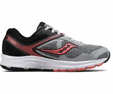 Saucony GRID COHESION 10 Womens Grey/Black/Coral S15333-14 Lace Up Running Shoes
