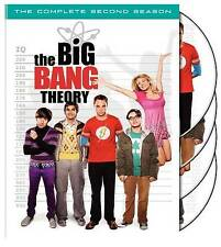 The Big Bang Theory - The Complete Second Season (DVD, 2009, 4-Disc Set) NEW!!