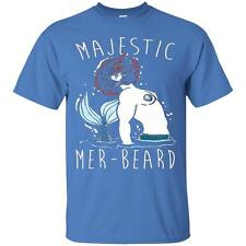 MAJESTIC MER BEARDS FUNNY TSHIRTS