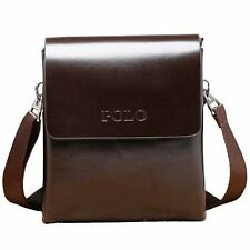 2016 New Men's Leather Bags  Fashion Brand Mens Messenger Bag Quality Small