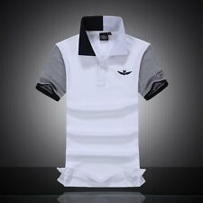 2016 summer autumn new men's boutique embroidery 100% cotton polo shirt Men's