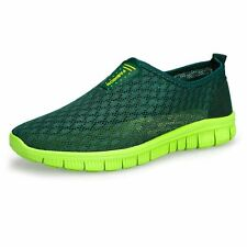 2017 New Mens Shoes Breathable Mesh Male Water Beach Shoes Walking Super Light