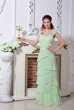 Plus size Chiffon Long Dress Mother of the bride dress Outfit Pleats Formal Gown