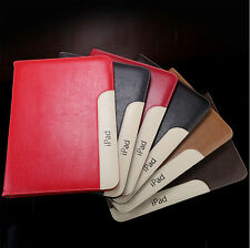 """Leather Smart Case Stand Magnetic Cover for iPad 1 2 3 4 Air Mini Pro 9.7"""" 12.9"""""""