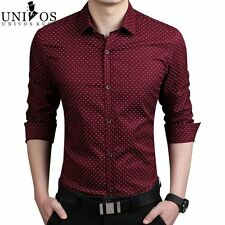 Plus Size 5XL Mens Dress Shirts 2016 Spring Autumn New Cotton Long Sleeve