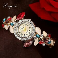 Lvpai Brand Fashion Crystal Women Dress Watches Watches For Women Dress Bracelet