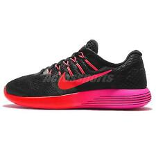 Wmns Nike Lunarglide 8 VIII Black Red Womens Running Shoes Sneakers 843726-006