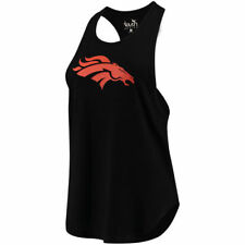 Touch by Alyssa Milano Denver Broncos Women's Black Wishbone Racerback Tank Top