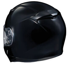 HJC Adult CL-17 Solid Black Full Face Motorcycle Helmet Snell DOT