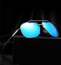 Polarized Mens Aviator Retro Metal Outdoor Sunglasses Glasses Driving Eyewear