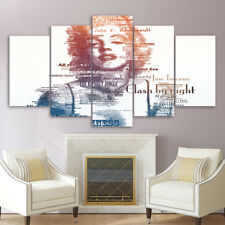 Framed Home Decor Canvas Print Painting Wall Art Marilyn Monroe All About Poster