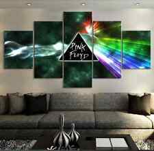 Framed Home Decor Canvas Print Painting Wall Art Pink Floyd Sign Poster Rock