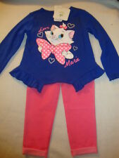 "DISNEY ARISTOCATS ""MARIE"" 2 piece SET NWTS SO CUTE!!! ""LOVE MARIE"""