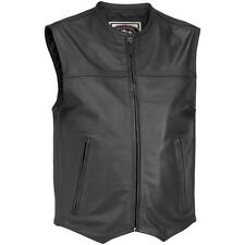 RIVER ROAD BRUTE LEATHER VEST MOTORCYCLE