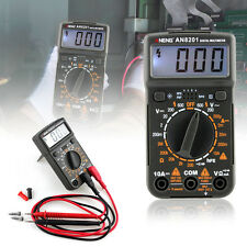 LCD Digital Multimeter Electric Handheld Tester AC/DC Voltmeter Ammeter Ohm RS