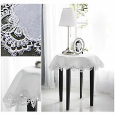 Victorian Macrame Lace Table Cloth - Premium Quality Tablecloth