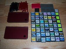 Nintendo DSI XL, 50 Games And Some Accesories Lot