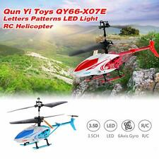 Qun Yi Toys QY66-X07E 3.5CH Infrared Control RC Helicopter Gyro Toy Genuine I1H7
