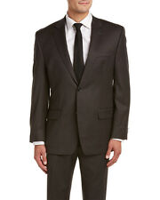 MICHAEL Michael Kors Wool Suit with Flat Front Pant