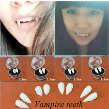 Halloween Cosplay Props Dentures Gothic Vampire Zombie Teeth Canine Tooth Caps