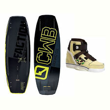 CWB Faction Blem Wakeboard With Howl Bindings 2017