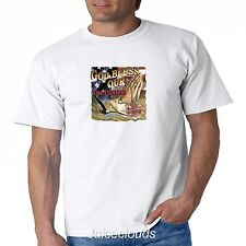 God Bless Our Firefighters T Shirt Fire Rescue Paramedic EMT EMS Hero Mens Tee