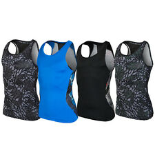 Compression Tight Shirts Men Sports vest Fitness 1Pcs Sleeveless Sports